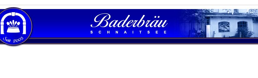 Baderbräu Schnaitsee gibt es jetzt auch in Rosenheim!