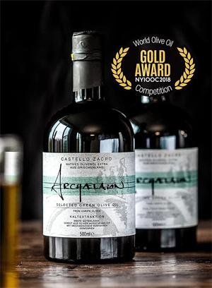 Archaelaion, das fruchtige Olivenöl