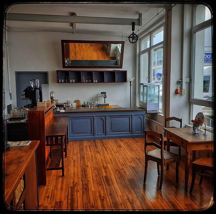 Unser neues Café