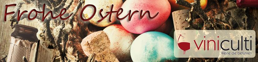 Frohe Ostern wünscht viniculti